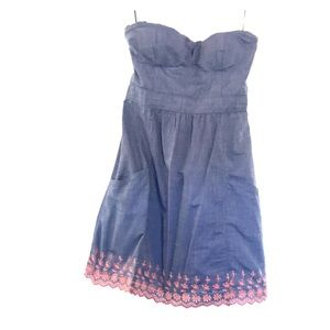 American Eagle Outfitters Dresses - Strapless pocket dress size 4